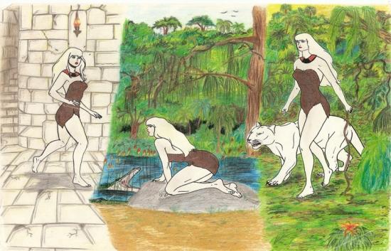 Jana of the Jungle by wisewyn